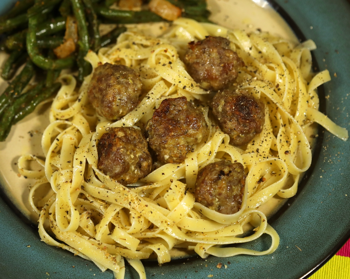 Lamb and Fennel Meatballs (and optionalsoup)